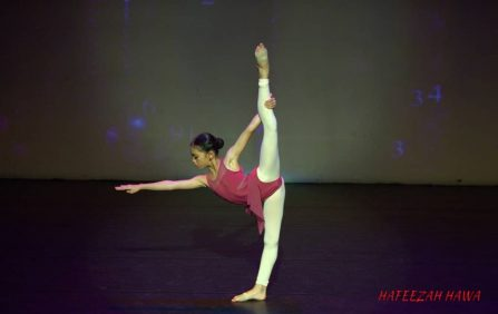 Asian Ballet Competition - Hafeezah Hawa