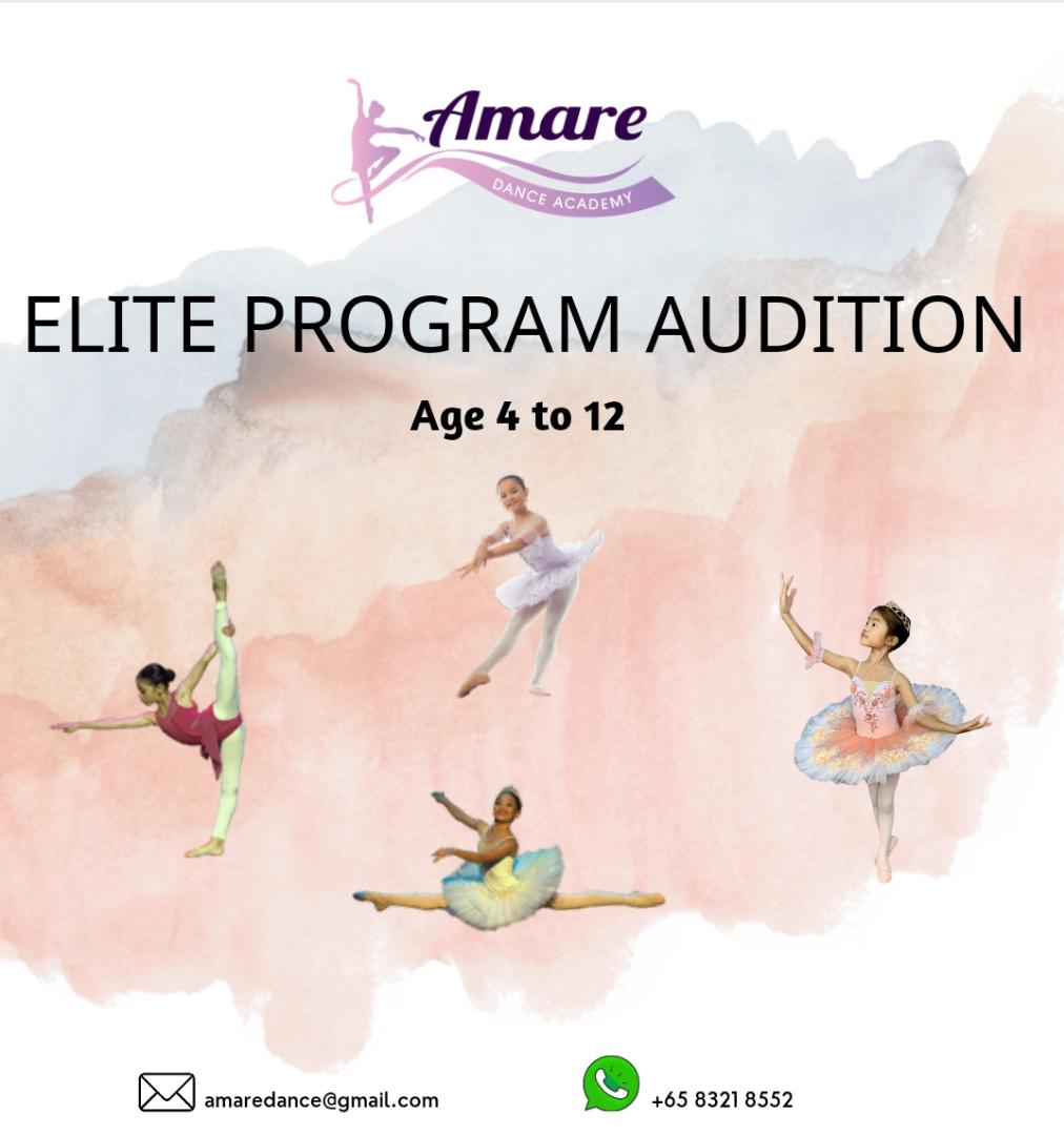 Elite Program Audition